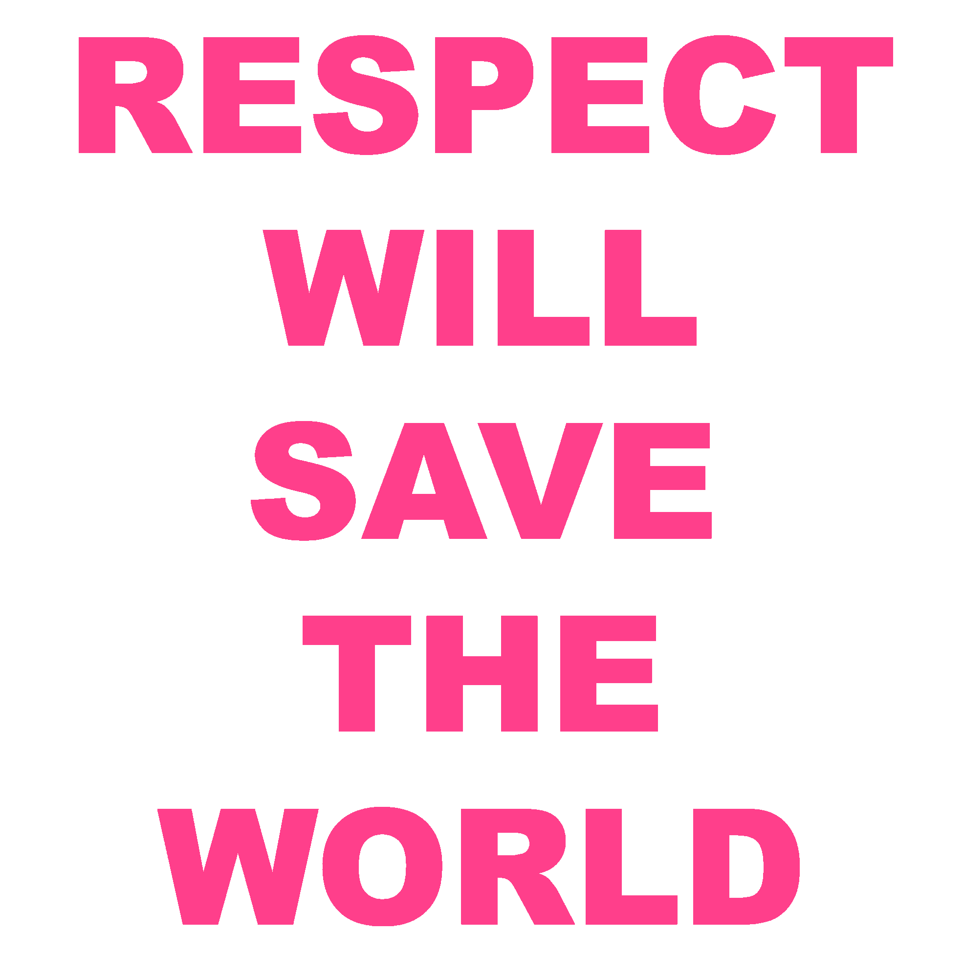 Respect Each Other: THE FUTURE OF OUR PLANET DEPENDS UPON IT